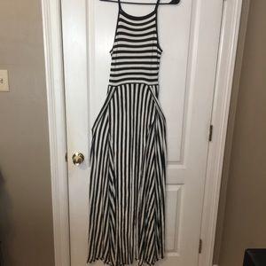 Women's Love in double slit maxi dress